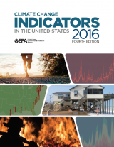Cover of Climate Change Indicators in the United States, 2016